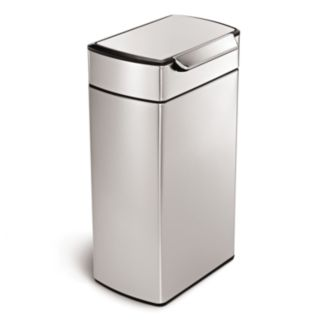 simplehuman 10.5-Gallon Rectangular Touch Bar Trash Can