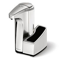 simplehuman 13-oz. Sensor Pump Soap Dispenser with Caddy