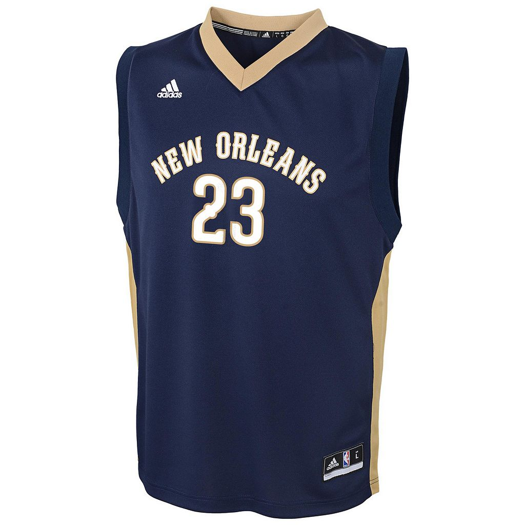 Boys 8-20 adidas New Orleans Pelicans Anthony Davis NBA Replica Jersey