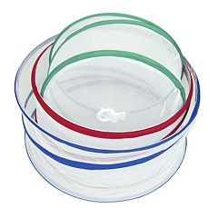 Trademark Home 3 pc Mesh Food Cover Set