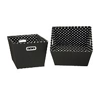 Household Essentials 2 pkStorage Bins