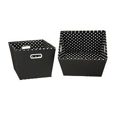 Household Essentials 2-pk. Storage Bins