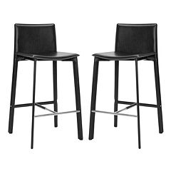 Safavieh 2 pc Janet Bar Stool Set