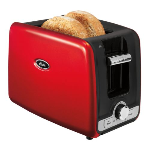 2 Slice Toaster with Retractable Cord