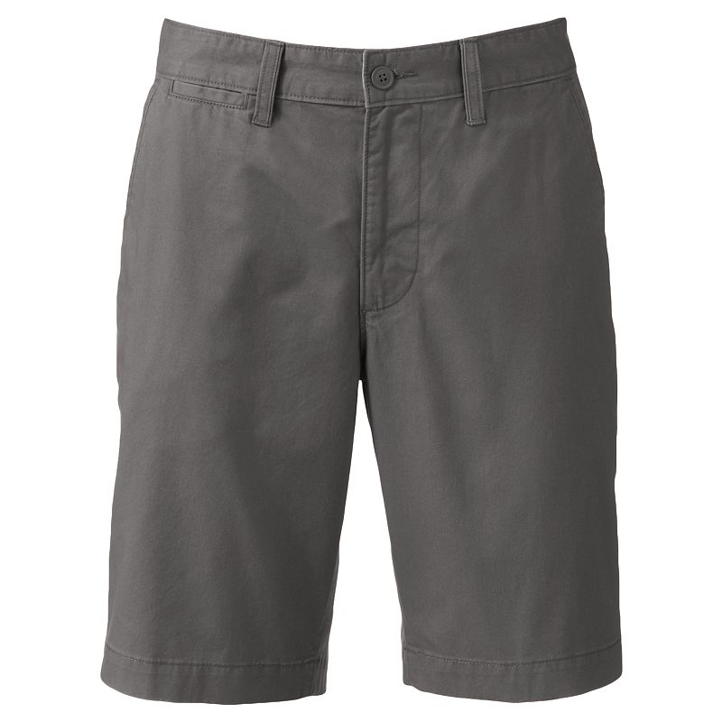 Croft Barrow Easy Care Comfort Waist Flat Front Shorts