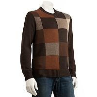 Dockers® Patchwork Crewneck Sweater - Men
