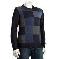 Dockers® Patchwork Crewneck Sweater - Men