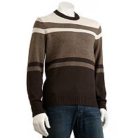 Dockers® Striped Crewneck Sweater - Men
