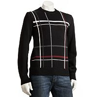 Dockers® Plaid Crewneck Sweater - Men