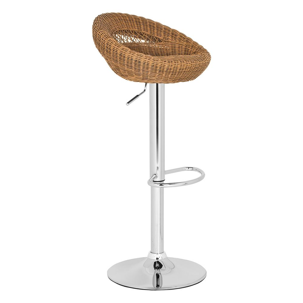 Safavieh Zebra Adjustable Bar Stool