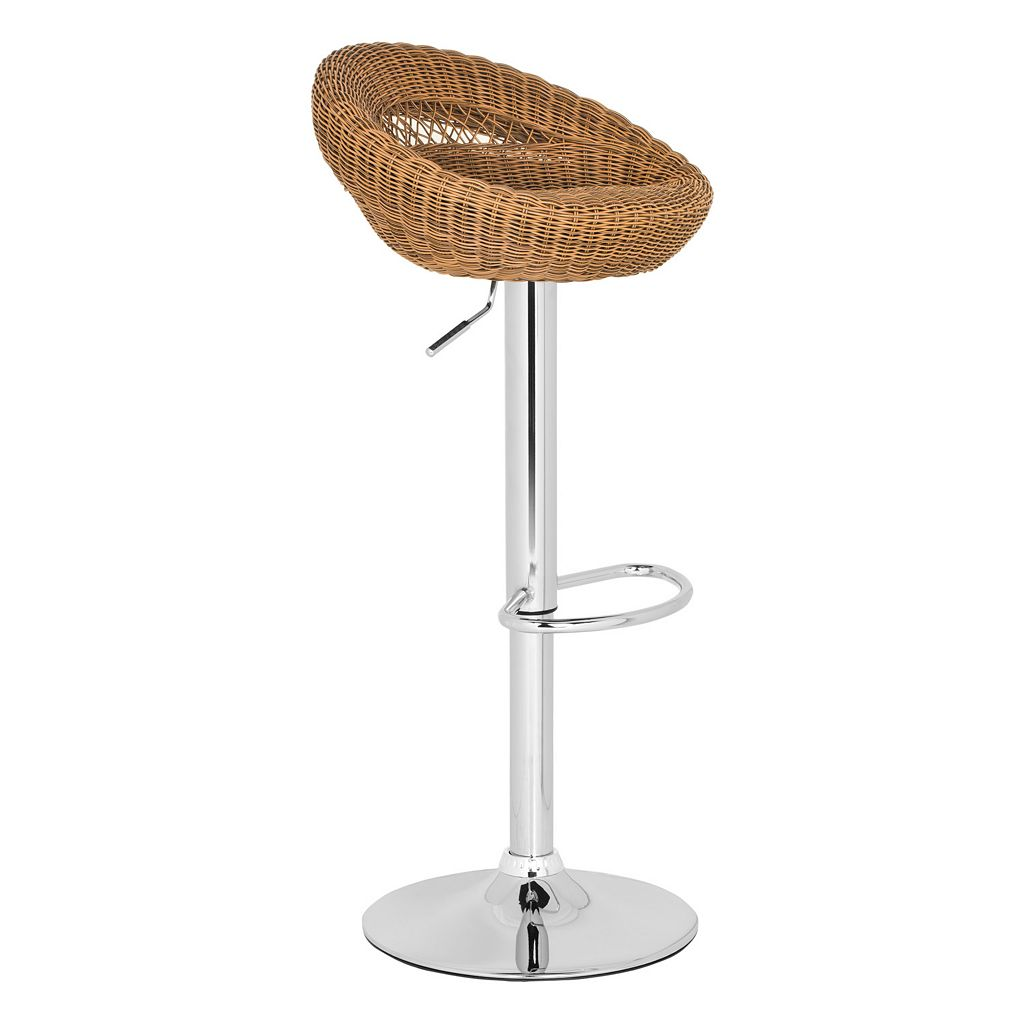 Safavieh Zebra Adjustable Bar Stool