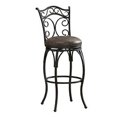 American Heritage Billiards Solana Swivel Counter Stool