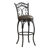 American Heritage Billiards Solana Swivel Bar Stool