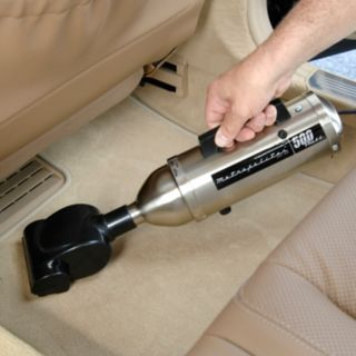 MetroVac High-Performance Handheld Car Vacuum with Turbo Brush