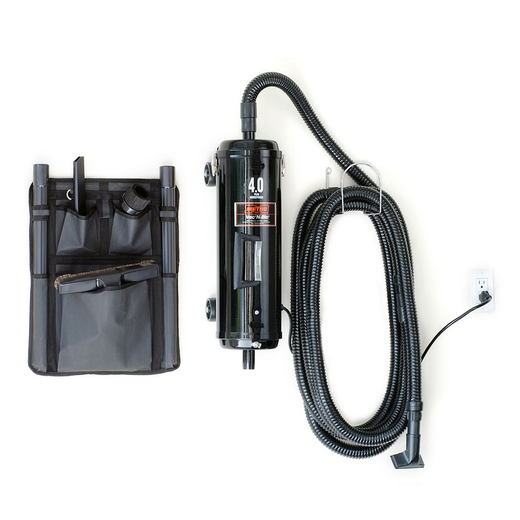 MetroVac Vac 'N' Blo Wall-Mount Car Vacuum and Blower