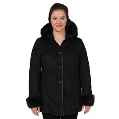 Womens Black Faux Suede Coats & Jackets - Outerwear, Clothing | Kohl's