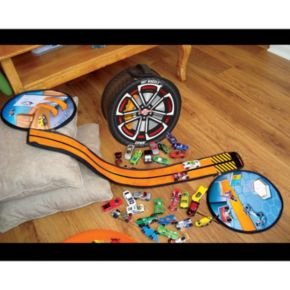Hot Wheels ZipBin Wheelie Track Pack by Neat-Oh!