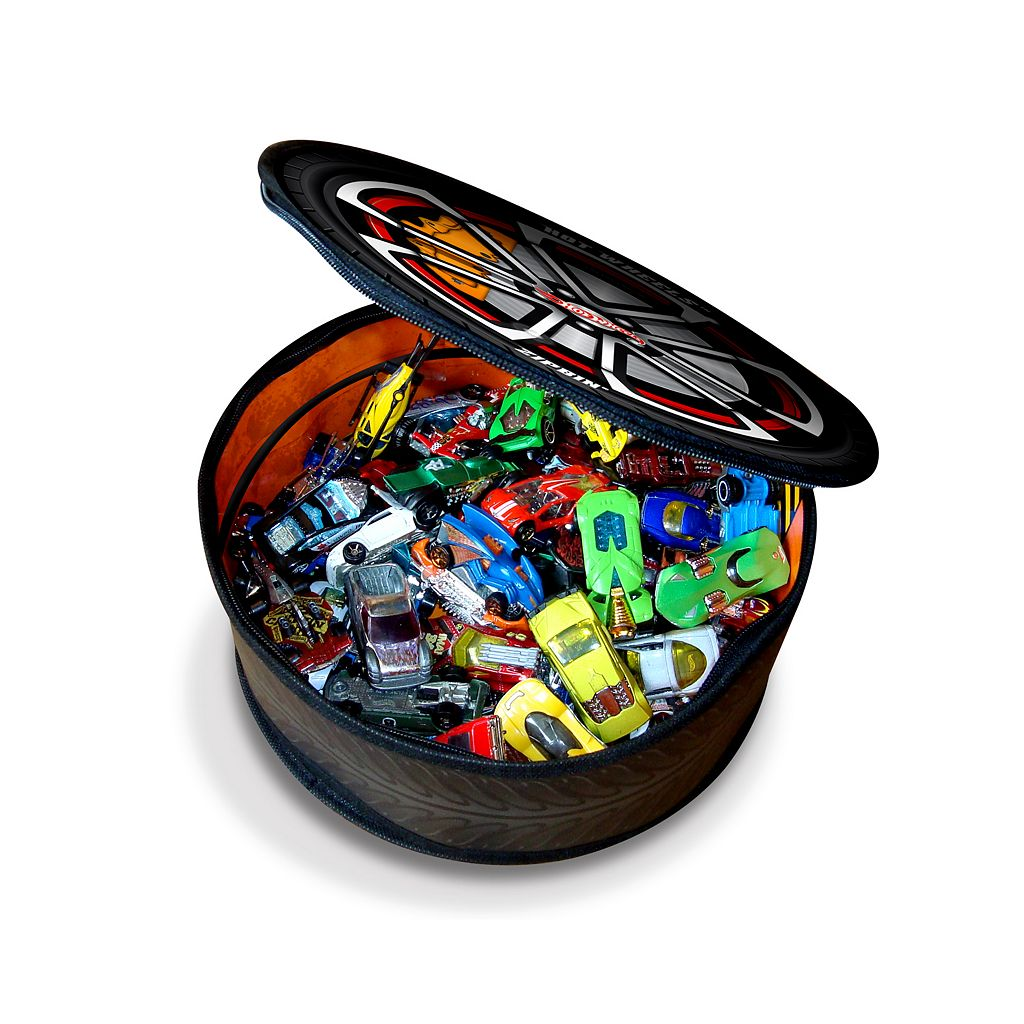 Hot Wheels ZipBin Wheelie Track Pack by Neat-Oh!