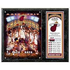 Miami Heat 2013 NBA Champions 12' x 15' Plaque