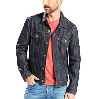 Big & Tall Levi's Denim Gridlock Trucker Jacket