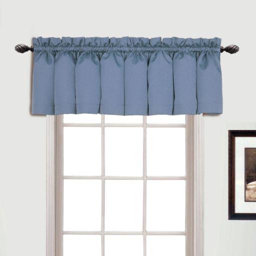 United Curtain Co. Metro Window Valance - 54'' x 18''
