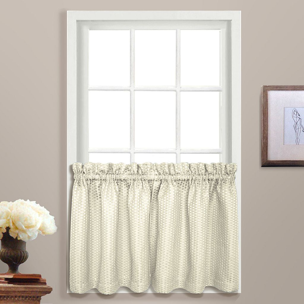 United Curtain Co. Hamden Tier Curtain Pair - 55'' x 24''