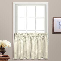 United Curtain Co. Hamden Tier Curtain Pair