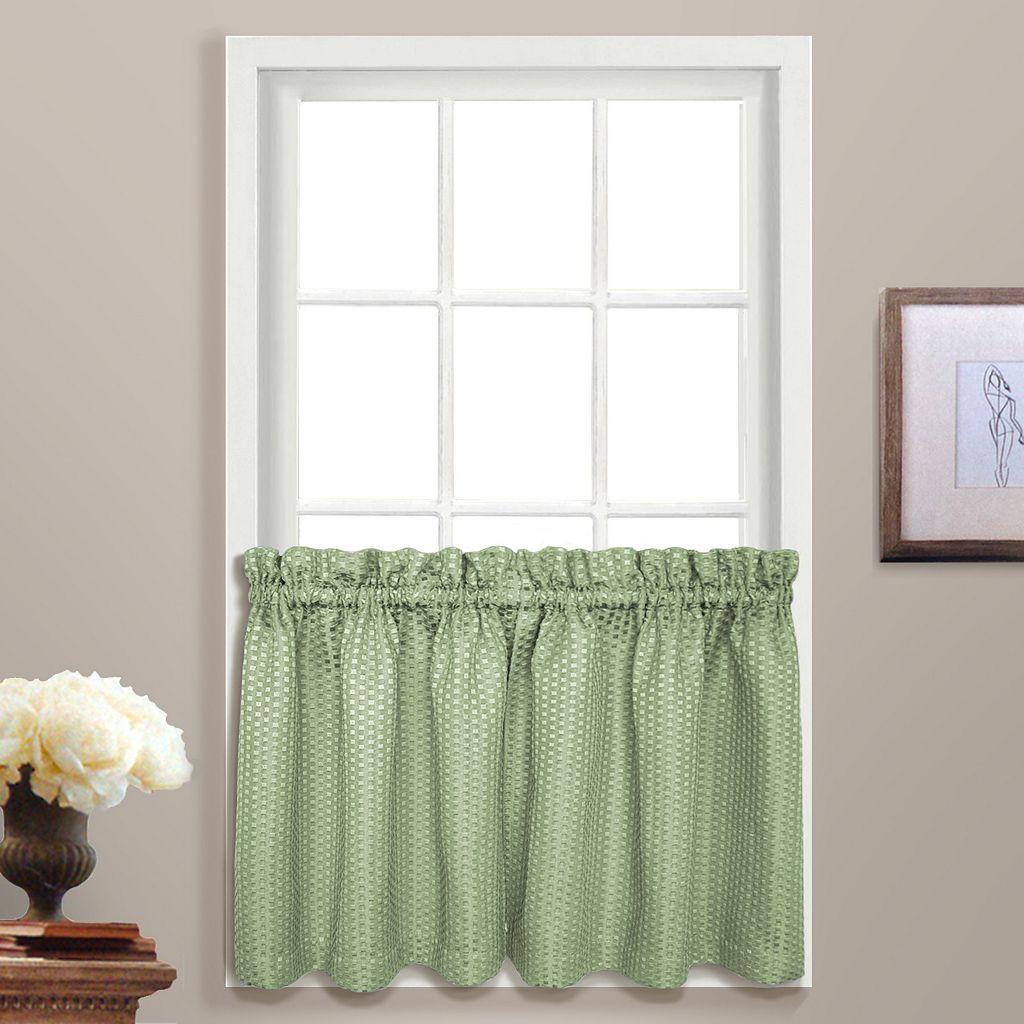 United Curtain Co. Hamden Tier Curtain Pair - 55'' x 36''