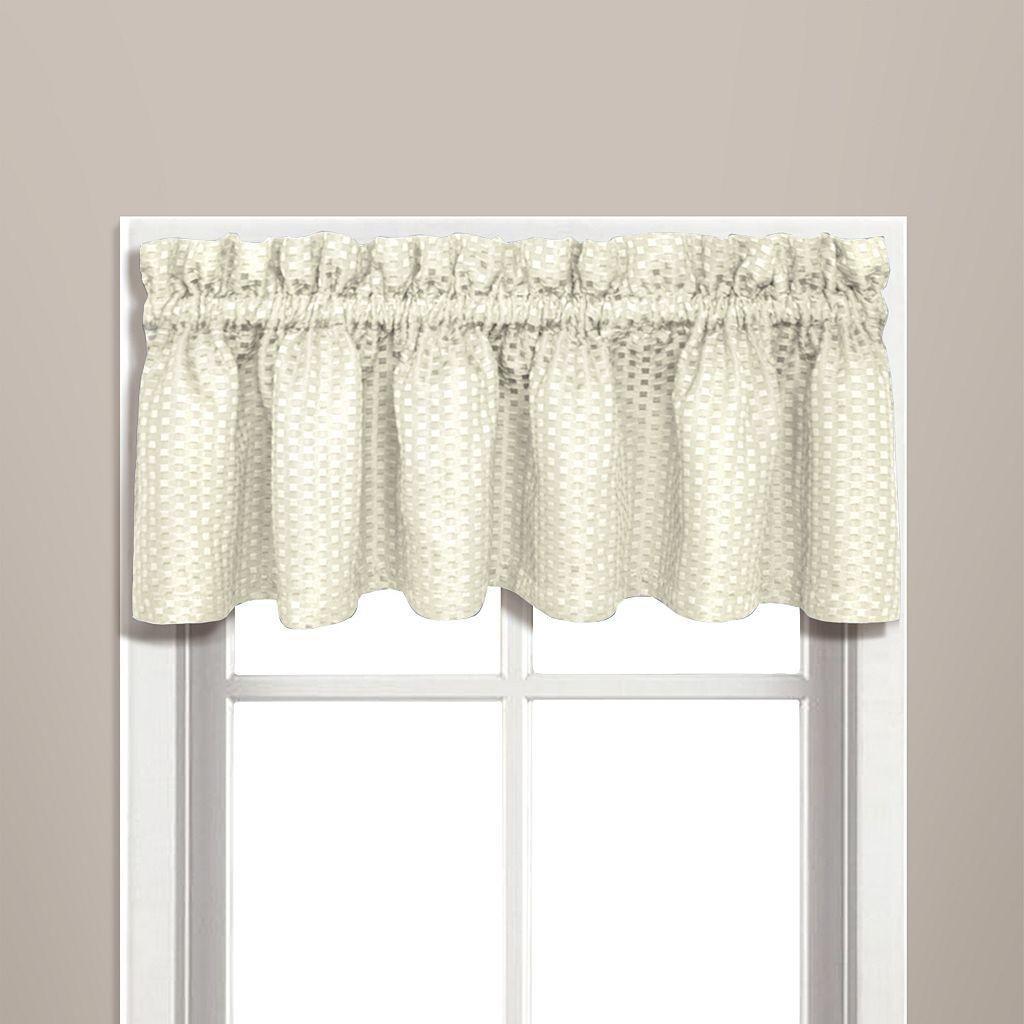 United Curtain Co. Hamden Window Valance - 57'' x 14''