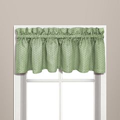 United Curtain Co. Hamden Window Valance - 57'' x 14''