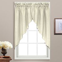United Curtain Co. Hamden Swag Curtain Pair - 55'' x 38''