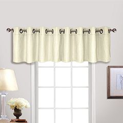 United Curtain Co. Hamden Window Valance - 54'' x 18''