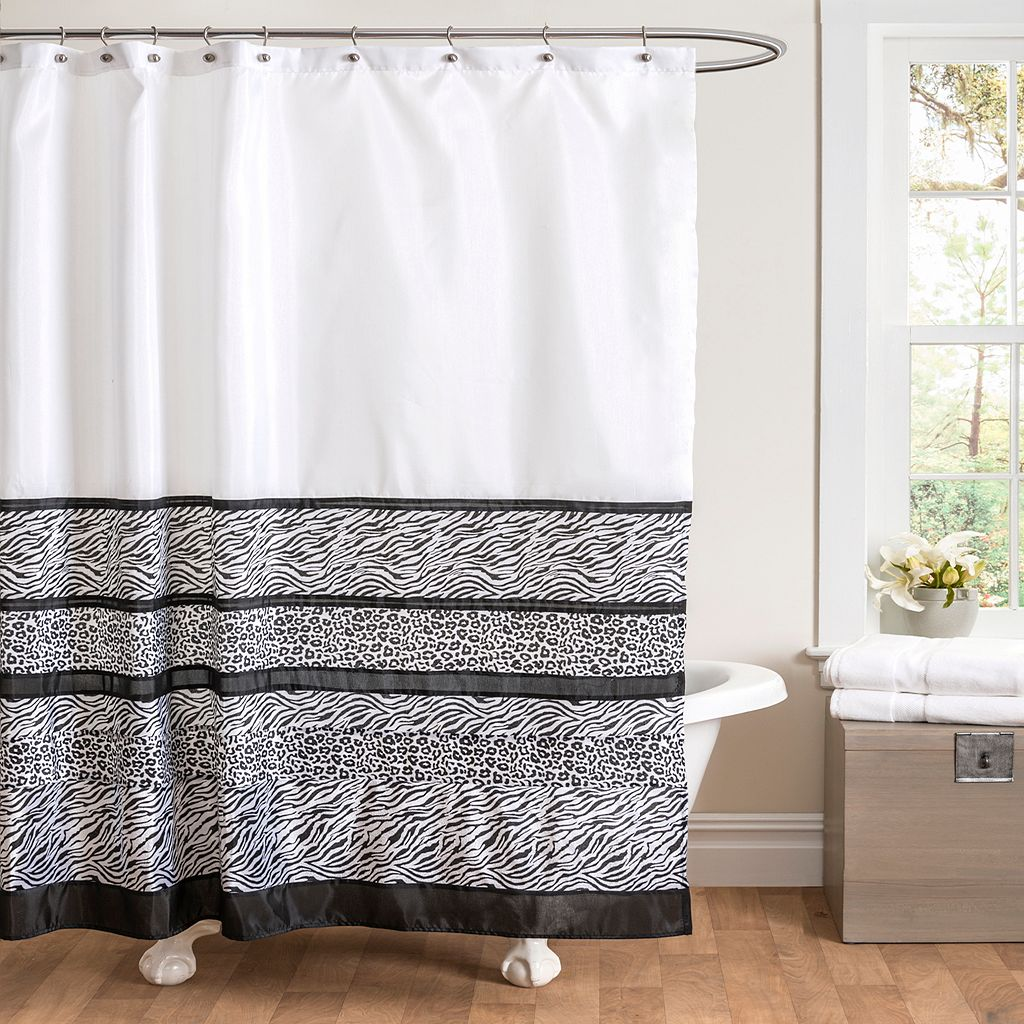 Tribal Dance Fabric Shower Curtain