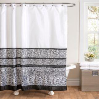 Tribal Dance Fabric Shower Curtain