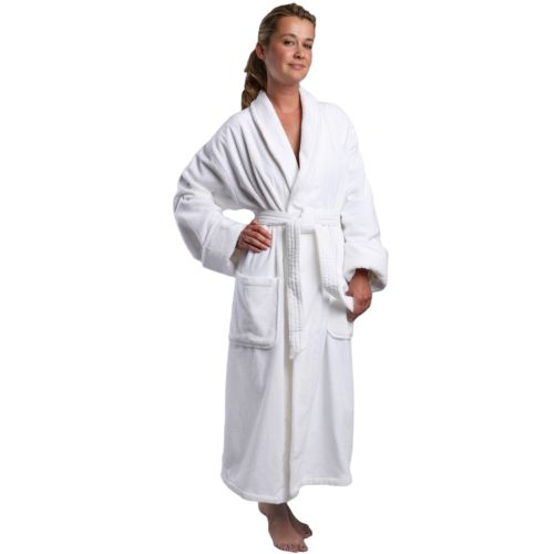 Monarch French Terry Velour Shawl Luxury Robe - Women's
