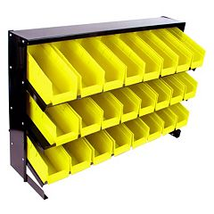 Trademark Tools 24-Bin Storage Rack