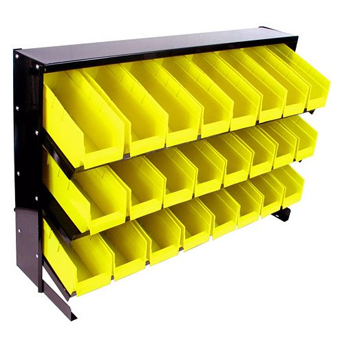 Trademark Tools 24-Bin Storage Rack