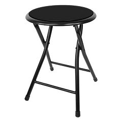 Trademark Tools 18-in. Cushioned Folding Stool