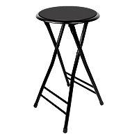 Trademark Tools 24 in Cushioned Folding Stool