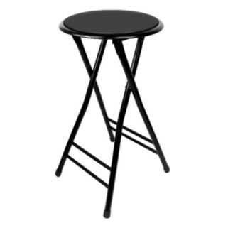 Trademark Tools 24-in. Cushioned Folding Stool