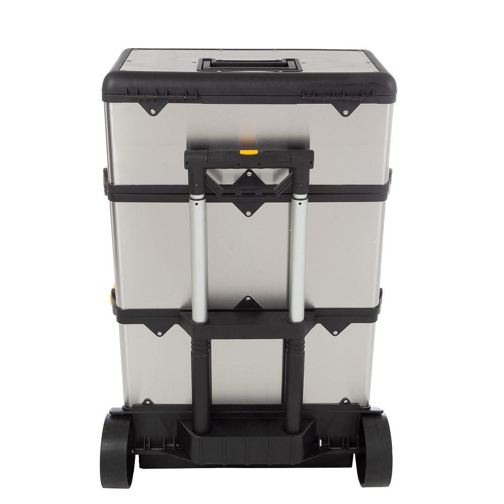 Trademark Tools 3-pc. Wheeled Toolbox Set