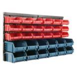 Trademark Tools 30-Bin Wall Mounted Storage Rack