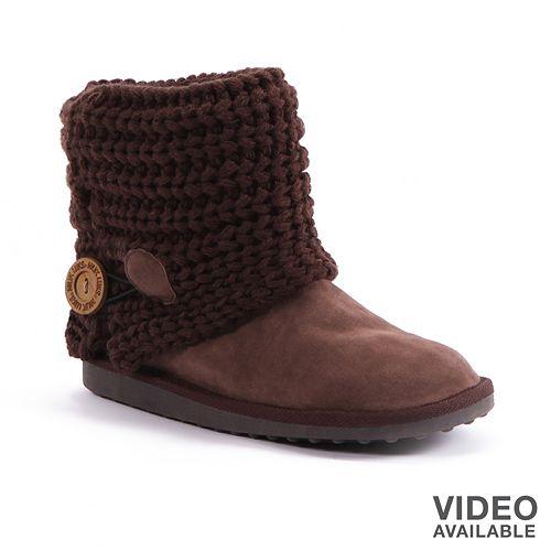 b70b5b9cc3629 MUK LUKS Patti Ankle Boots - Women