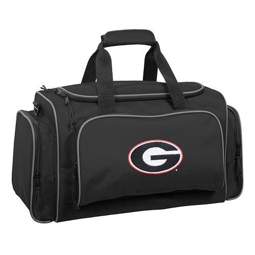 WallyBags 21-Inch Georgia Bulldogs Duffel Bag