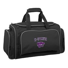 WallyBags 21-Inch Kansas Wildcats Duffel Bag