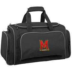 WallyBags 21-Inch Maryland Terrapins Duffel Bag