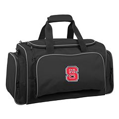 WallyBags 21-Inch North Carolina State Wolfpack Duffel Bag
