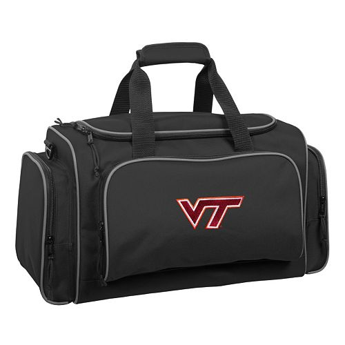 WallyBags 21-Inch Virginia Tech Hokies Duffel Bag