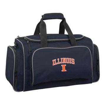 WallyBags 21-Inch University of Illinois Fighting Illini Duffel Bag