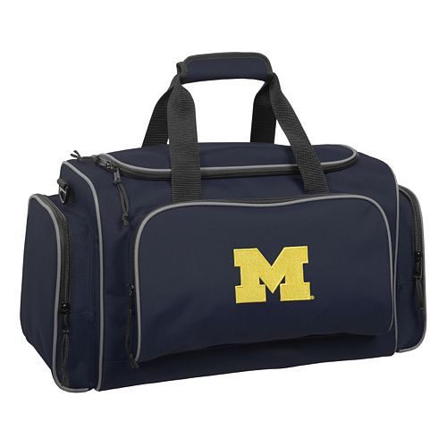 WallyBags 21-Inch University of Michigan Wolverines Duffel Bag